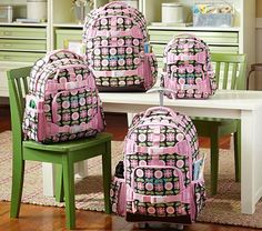 Mackenzie Chocolate Backpacks #PotteryBarnKids Got one for Kassidy today :)