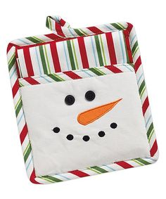Design Imports Snowman Potholder & Dish Towel   zulily