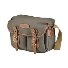 [Billingham] Hadley Small Sage FibreNyte Tan Leather DSLR Camera Shoulder Bag