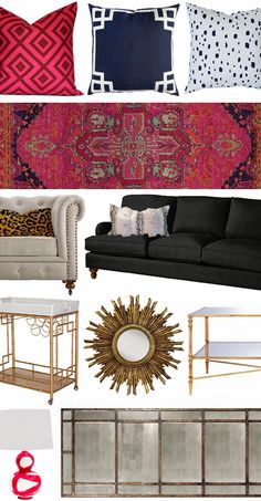 the HUNTED INTERIOR: Glitter Guide Feature + Shop Our Home LOVE THIS ENTIRE HOME