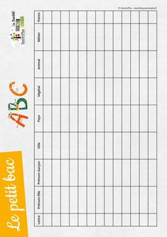 French Worksheets, Play To Learn, Diy For Kids, Pixel Art, Kids Playing, Bullet Journal, Activities, Jouer, New York