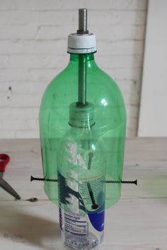 DIY CONCRETE A catalog of nice things that you can make www.HomeMade-Modern.com CONCRETE VASES Use old plastic bottles and Quikrete concrete mix to make these vases THE DEATH STAR Use a silicon ice cube mold to make a your very own concrete Death Star