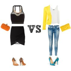 Which do you prefer? Roberta Cenci in this set #shoes #outfit #fashion #women #moda