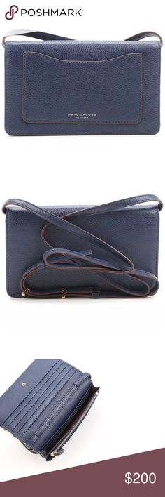 Marc Jacobs wallet/crossbody bag See pic for description Marc Jacobs Bags Wallets