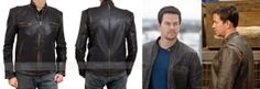 #Mark Wahlberg #Contraband Brown Jacket. The overall look of the jacket is vintage and classic. http://www.fanjackets.com/products/mark-wahlberg-contraband-brown-leather-jacket.html #mens #swag #sales #deals #shopping #mensfashion #clothing #cosplay #celebs #celeb