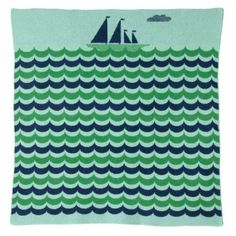 Wrap your little one in the cozy comfort as they sail off to dreamland—the warm swaddle of the 100% lambswool Boat Blanket will have them rocking off to sleep in no time.