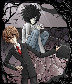 Tim Burton Style Death Note By MaGLIL.