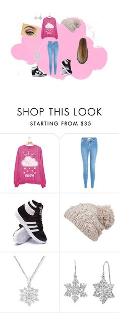 """snow"" by caitlynwayward on Polyvore featuring adidas, prAna, Amanda Rose Collection and NIKE"