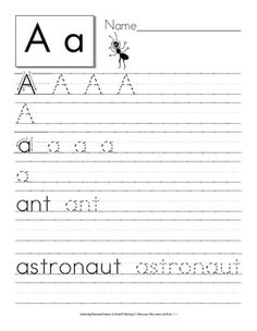 1000 images about handwriting practice on pinterest alphabet tracing penmanship and. Black Bedroom Furniture Sets. Home Design Ideas