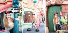 Senior Pictures in Disneyland California by photographer Tara Rochelle