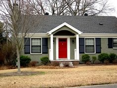 1000 Images About Exterior House Paint On Pinterest Red