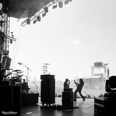 Annihilator at Hellfest 2014... Some classic black 'n' white GrandMeister action going on here!