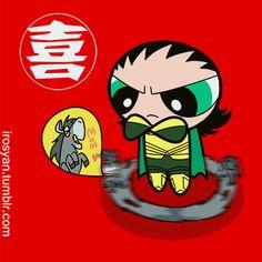Powerpuff Avengers - Loki
