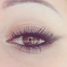 Soft cat eye - pretty & subtle