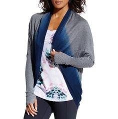 ac42b49b332 CALIA by Carrie Underwood Women s Effortless Dip Dye Cocoon Sweater