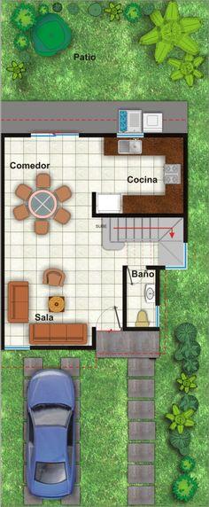 Planos casas de madera prefabricadas plano casa 36 m2 cod - Casas de madera planos ...