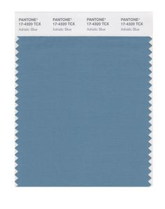 Amazon.com: PANTONE SMART 17-4020X Color Swatch Card, Blue Shadow: Home Improvement. Adriatic Blue. (Example for more muted colour tone)