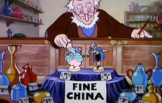 Silly Symphonies: The China Shop