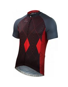 Optical Diamonds Jersey by Debbie Clapper Men's | Artist-Inspired Cycling Apparel | Pactimo