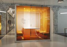 Voomy IT Modern Meeting Cube Design