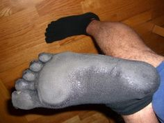 David's barefoot running Injinji Sock w/Plasti dip bottom Barefoot Running, Barefoot Shoes, Plasti Dip Car, Run With Me, Crafts With Pictures, Born To Run, Toe Socks, New Inventions, Helpful Hints