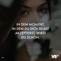 VISUAL STATEMENTS - VISUAL STATEMENTS® Quote Citation, S Quote, Letters Of Note, German Quotes, Happy Again, Motivation Goals, Visual Statements, Self Confidence, Poetry Quotes