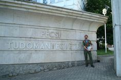 May 2015, delivering some GLS 2 books to the University of Pécs, Hungary.