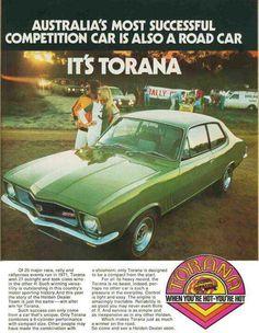 I've always loved the Torana! Australian Muscle Cars, Aussie Muscle Cars, Holden Torana, Holden Australia, Car Brochure, Sports Sedan, Car Posters, Car Advertising, Hot Cars