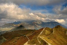Kopa Kondracka, Tatry Tatra Mountains, Carpathian Mountains, Poland, Landscapes, Meet, Vacation, Country, Fall, Nature