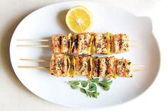 Find the recipe for Spiced Salmon Kebabs and other sesame recipes at Epicurious.com