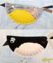 Znalezione obrazy dla zapytania praca plastyczna przedszkole ptaki
