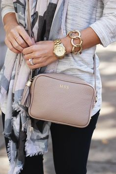 GiGi New York Stone Madison Crossbody