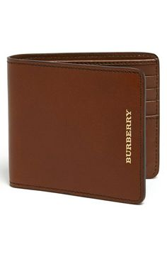 Burberry Billfold Wallet available at #Nordstrom VALENTINES GIFT