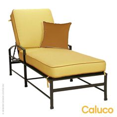 Caluco San Michelle Single Chaise #outdoor design available at AllModernOutlet.com