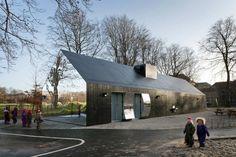 Casa de los Espejos by MLRP (Fælledparken, Copenague, Dinamarca) #architecture