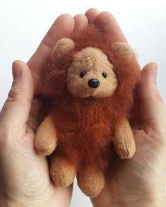 Baby teddy bear Tony. Little Tony is made by hand. Its height