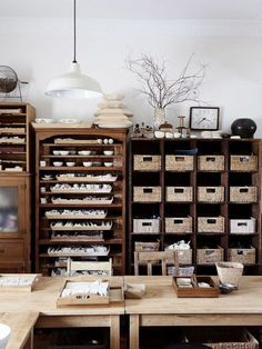 Organization inspiration for the anti-minimalist creative, inspired by makers and designers from around the world