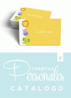 catalogo etsy tarketas personales