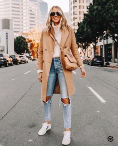 Today I'm sharing some of my favorite looks from Most of them are fall outfits, casual outfits, Anine Bing pieces, and of course a few camel coats. Winter Fashion Outfits, Winter Outfits, Autumn Fashion, Spring Fashion, Summer Outfits, Fashion 2020, Look Fashion, Womens Fashion, Fashion Coat