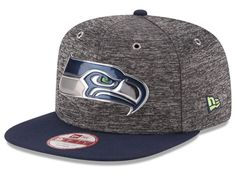 Seattle Seahawks New Era 2016 NFL Kids Draft 9FIFTY Original Fit Snapback Cap