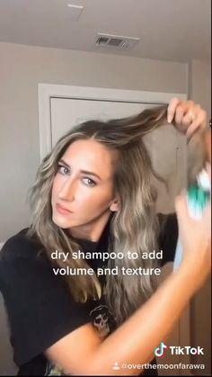 Bun Hairstyles For Long Hair, Pretty Hairstyles, Volume Hairstyles, Winter Hairstyles, Braided Hairstyles, Cheveux Beiges, Hair Upstyles, Grunge Hair, Hair Videos