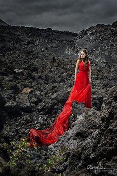 Marina Solarina in der Lava Landschaft im Süden von La Palma