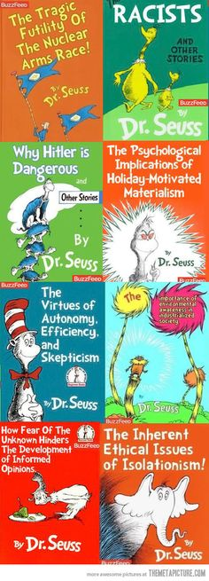 If Dr. Seuss had been more obvious… HAHAHAHAHA!!!