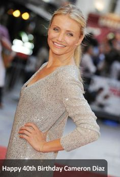 Can you believe Cameron Diaz is 40?! Happy birthday! More news: http://www.eventnow.com/article/user-feature/happy-40th-birthday-cameron-diaz/9852