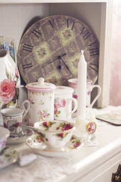 Girly Tea Party Brunch