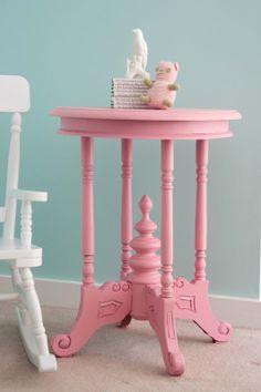 pink furniture love