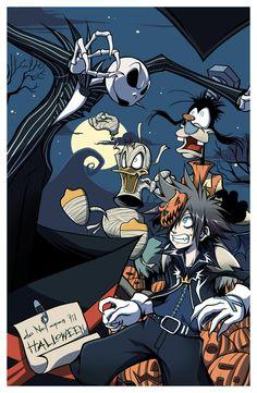 Halloween Kingdom Hearts