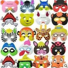 PAGE 3 -  How To  for MASKS COSTUMES and GLASSES MASK · Paper Plate ...  sc 1 st  Pinterest : paper plate halloween masks - pezcame.com