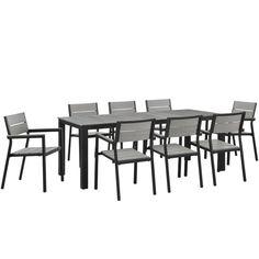 Main 9-piece Outdoor Patio Dining Set