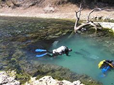 Cave diving at the Devil's Eye Cave in Florida   19 Essential Destinations For Thrill Seekers